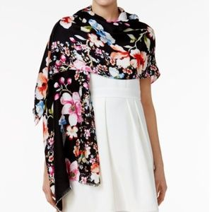 INC International Concepts Accessories - INC Butterfly Garden Pashmina Wrap & Scarf